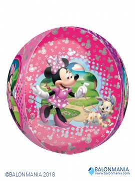 Minnie krogla 3D balon