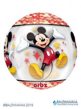Mickey mouse krogla 3D balon