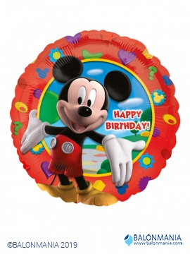 Mickey happy birthday balon
