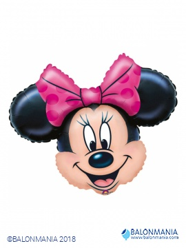 Minnie mouse glava balon