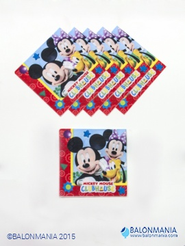 Mickey Mouse papirnate serviete 20/1